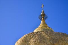 Pagode de Kyaikhtiyo, Myanmar Foto de Stock Royalty Free