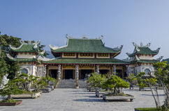 Pagode de Linh Ung, Da Nang Imagem de Stock Royalty Free