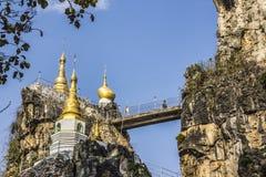 Pagode de Loikaw Foto de Stock Royalty Free