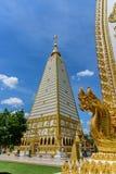 Pagode de Nong Bua em Tailândia Fotos de Stock Royalty Free