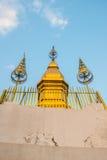 Pagode de Phusi de Luangprabang, Laos fotografia de stock royalty free