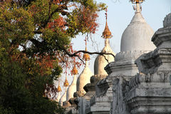 Pagode de Sandamuni - Mandalay Burma Myanmar Imagens de Stock Royalty Free