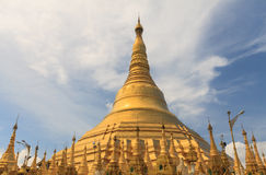 Pagode de Shwedagon Fotos de Stock Royalty Free