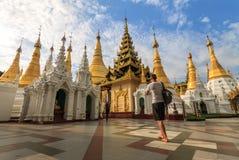 Pagode de Shwedagon Imagens de Stock