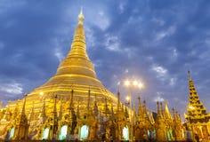 Pagode de Shwedagon Imagens de Stock Royalty Free