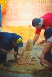 Pagode de Songkran Foto de Stock Royalty Free