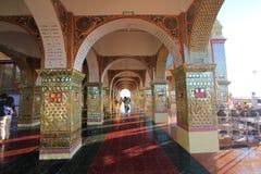 Pagode de Sutaungpyei do monte de Mandalay Imagens de Stock