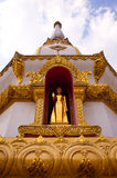 Pagode in de tempel van Thailand Stock Foto's