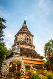 Pagode de Wat Lok Moli imagem de stock
