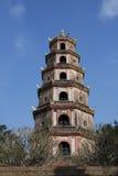 Pagode in der Farbe, Vietnam Lizenzfreie Stockfotografie
