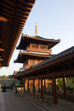 Pagode des China-Tempels Lizenzfreie Stockfotografie