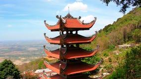 Pagode des Nirwanas Buddha auf Ta-Cuberg in Vietnam Lizenzfreie Stockfotos