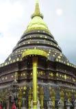 Pagode des Tempels im lampang, Thailand Stockfotografie