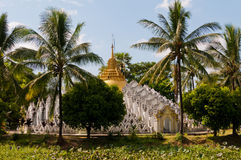 Pagode dichtbij Bago, Myanmar Stock Afbeelding