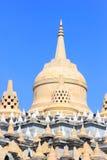 Pagode do arenito em Pa Kung Temple em Roi Et de Tailândia Há um lugar para a meditação Foto de Stock
