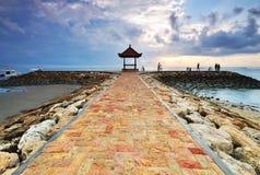 Pagode do Balinese em Sanur, Bali Fotografia de Stock Royalty Free