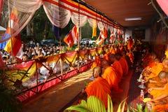 Pagode do dia de Phcum ben em Phnom Penh Fotografia de Stock