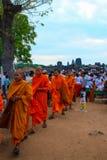 Pagode do dia de Phcum ben em Phnom Penh Imagem de Stock