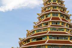Pagode do kang do pla de Wat Hyua Imagens de Stock Royalty Free