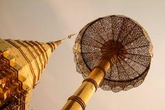 Pagode dourado Foto de Stock