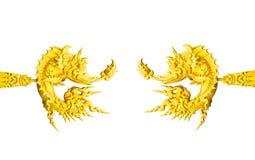Pagode dourado no templo tailandês, Khonkaen Imagens de Stock Royalty Free
