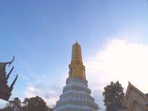 Pagode e templo de Tailândia foto de stock royalty free