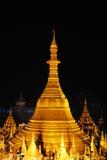 Pagode em Myanmar escuro imagens de stock