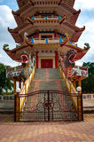 Pagode em Palembang, Indonésia foto de stock royalty free