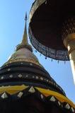 Pagode em Tailândia do norte fotos de stock