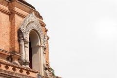 Pagode em Wat Che di Luang, Chiang Mai, Tailândia Fotos de Stock Royalty Free