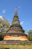 Pagode em Wat Umong Suan Puthatham Chaing Mai Thailand Fotografia de Stock
