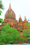 Pagode GUs Byauk Gyi, Bagan Archaeological Zone, Myanmar Lizenzfreies Stockbild