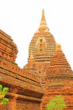 Pagode GUs Byauk Gyi, Bagan Archaeological Zone, Myanmar Stockfotografie