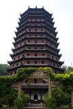 Pagode in Hangzhou Lizenzfreie Stockfotos