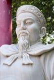 Pagode Hong hien tu-frejus Frankreich-Statue Stockbild