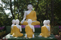 Pagode Hong hien tu-frejus Frankreich-Statue Stockfotos