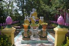 Pagode Hong hien tu-frejus Frankreich-Statue Stockfoto