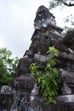 Pagode im siamesischen Tempel Stockfotos