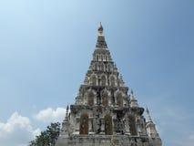 Pagode im Tempel Stockbild