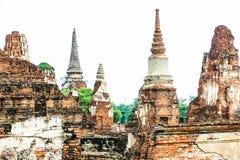 Pagode im Thailand-Tempel Stockfotos