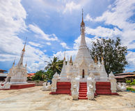 Pagode am Inle See, Myanmar Stockfoto