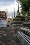 Pagode ist in Wat Pho Bangkok Thailand Lizenzfreie Stockfotografie