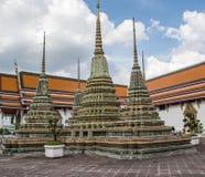 Pagode ist in Wat Pho Bangkok Thailand Stockfotografie