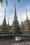 Pagode ist in Wat Pho Bangkok Thailand Lizenzfreies Stockfoto