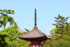 Pagode Japão imagens de stock royalty free