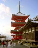 Pagode, Japan Royalty-vrije Stock Foto's