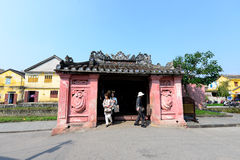 Pagode japonês (ou pagode da ponte) na cidade antiga de Hoi An Fotos de Stock