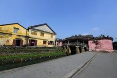Pagode japonês (ou pagode da ponte) na cidade antiga de Hoi An Imagens de Stock
