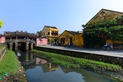 Pagode japonês (ou pagode da ponte) na cidade antiga de Hoi An Imagens de Stock Royalty Free