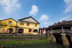 Pagode japonês (ou pagode da ponte) na cidade antiga de Hoi An Foto de Stock